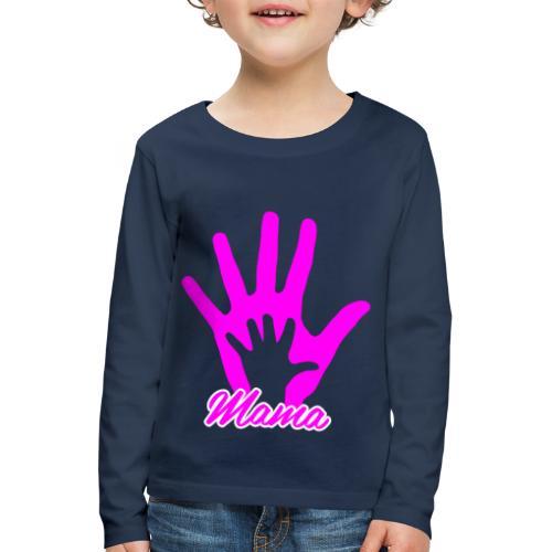 mamas hand - T-shirt manches longues Premium Enfant