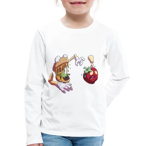 Tomato Chase - Långärmad premium-T-shirt barn