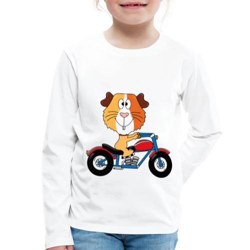 MEERSCHWEINCHEN - MOTORRAD - BIKER - MOTORSPORT - Kinder Premium Langarmshirt