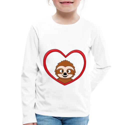 FAULTIER - LIEBE - LOVE - TIER - KIND - BABY - Kinder Premium Langarmshirt