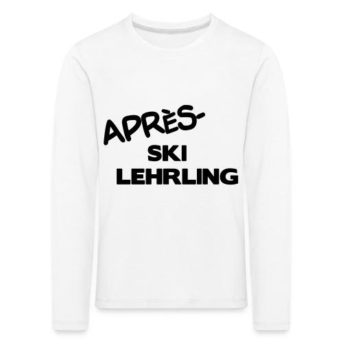 Après Ski Lehrling, Winter Shirt - Kinder Premium Langarmshirt