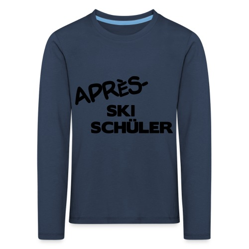 Après Ski Schüler, Winter Shirt - Kinder Premium Langarmshirt