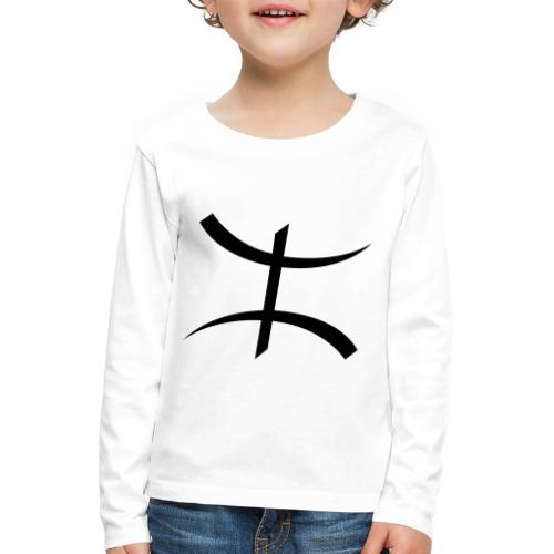 Motif Kabyle - T-shirt manches longues Premium Enfant