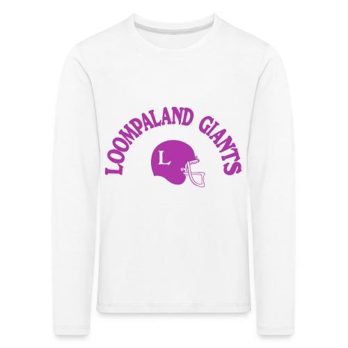 Willy Wonka heeft een team - Kinderen Premium shirt met lange mouwen