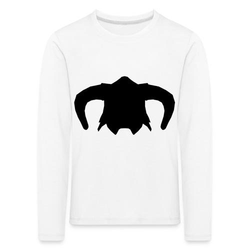 Nord Warrior Helm T-Shirt - Maglietta Premium a manica lunga per bambini