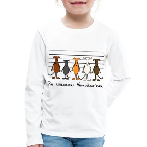 Die üblichen Verdächtigen - Kinder Premium Langarmshirt