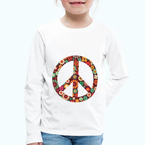Flowers children - peace - Kids' Premium Longsleeve Shirt