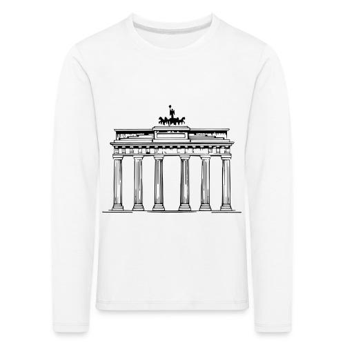 Brandenburger Tor Berlin Victoria Streitwagen - Kinder Premium Langarmshirt