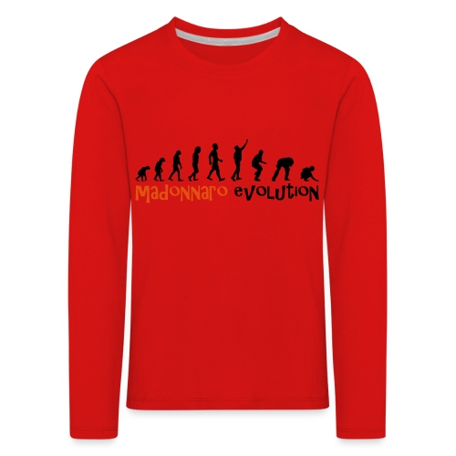 madonnaro evolution original - Kids' Premium Longsleeve Shirt