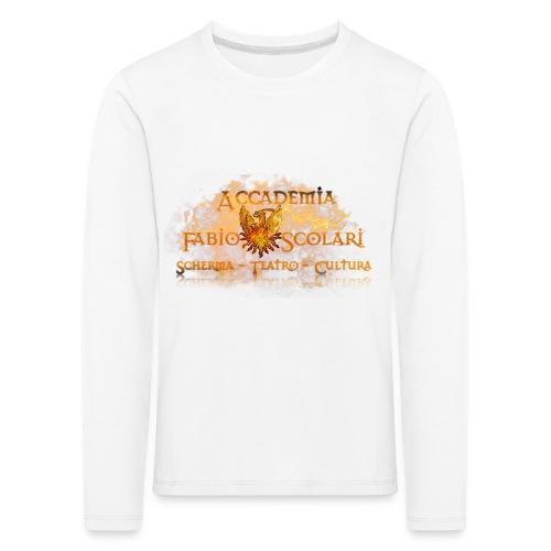 Accademia_Fabio_Scolari_trasprido-png - Maglietta Premium a manica lunga per bambini