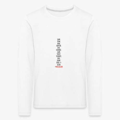 Tom Dan Oliver Joe George - Kids' Premium Longsleeve Shirt