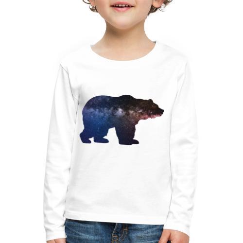 Großer Bär - Kinder Premium Langarmshirt