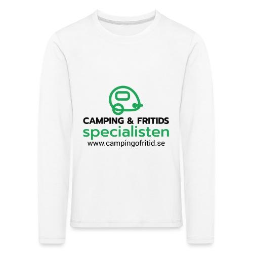 Camping & Fritidsspecialisten NEW 2020! - Långärmad premium-T-shirt barn