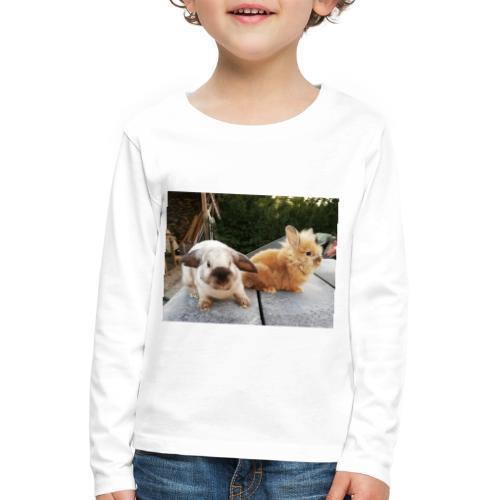 Nouche en Ninou - Kinderen Premium shirt met lange mouwen