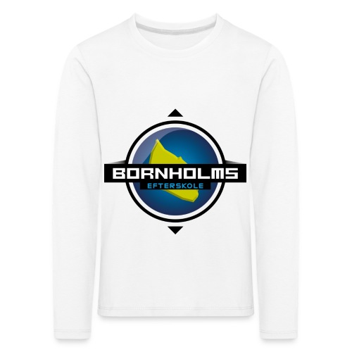 BORNHOLMS_EFTERSKOLE - Børne premium T-shirt med lange ærmer