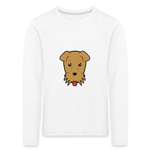 Shari the Airedale Terrier - Kids' Premium Longsleeve Shirt