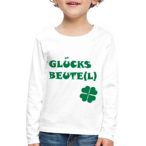 Glücksbeutel - Kinder Premium Langarmshirt