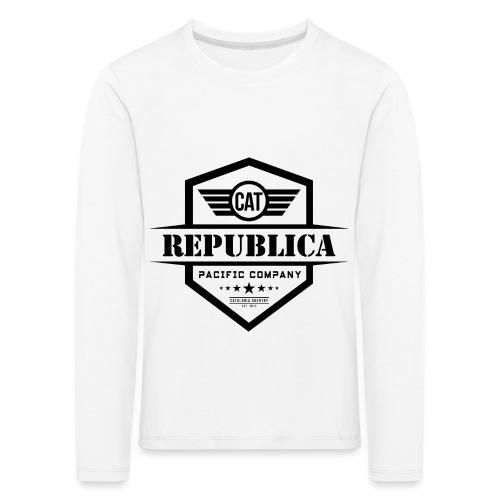 REPUBLICA CATALANA ELEGANT - Camiseta de manga larga premium niño