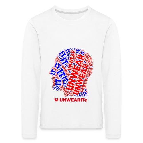 UNWEARIT IN MY MIND - Maglietta Premium a manica lunga per bambini