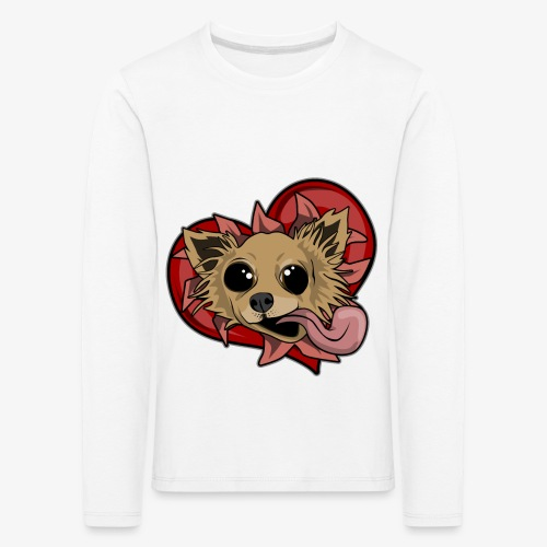 Engla - Långärmad premium-T-shirt barn