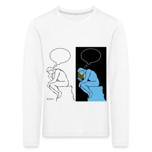 The Thinker - Kids' Premium Longsleeve Shirt