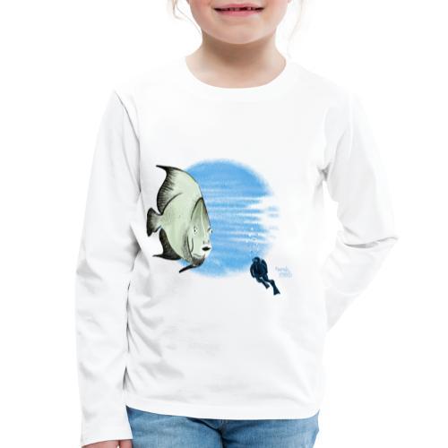 Selfie fish - T-shirt manches longues Premium Enfant