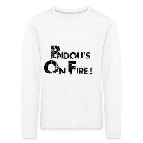 Sans titre 6 png - T-shirt manches longues Premium Enfant