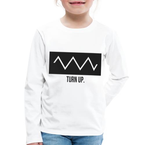 Turn Up - Kinder Premium Langarmshirt