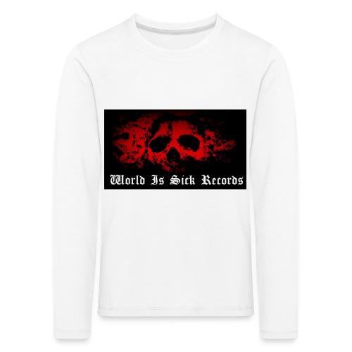 World Is Sick Skull Huppari - Lasten premium pitkähihainen t-paita