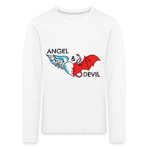 A-D-png - Maglietta Premium a manica lunga per bambini