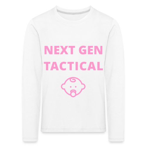 Tactical Baby Girl - Kinderen Premium shirt met lange mouwen