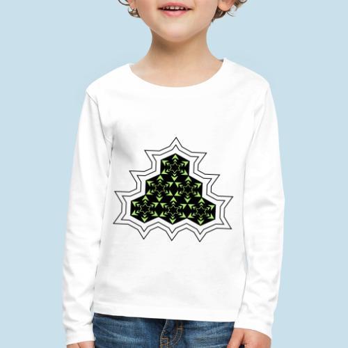 Stern - Kinder Premium Langarmshirt