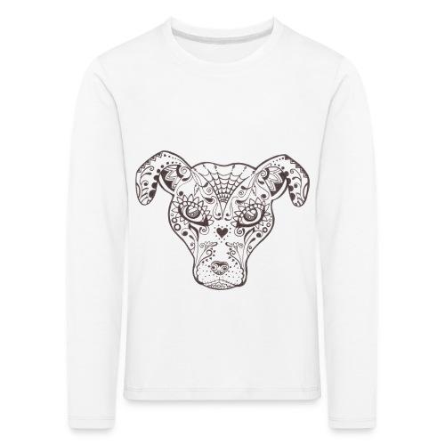 Sugar Dog - Kinder Premium Langarmshirt