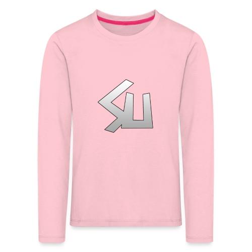 Plain SU logo - Kids' Premium Longsleeve Shirt