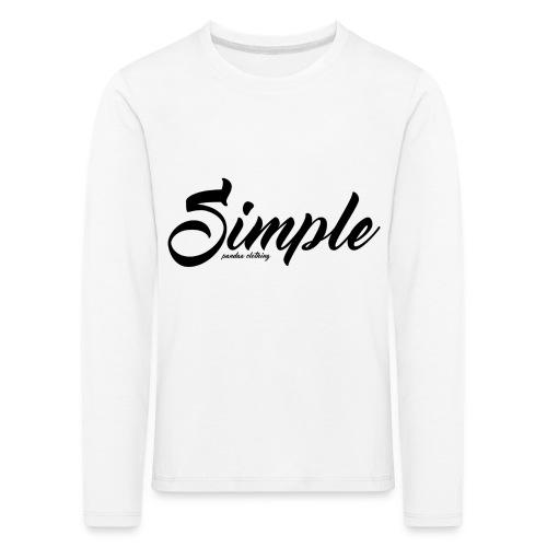 Simple: Clothing Design - Kids' Premium Longsleeve Shirt