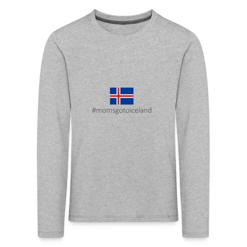 Iceland - Kids' Premium Longsleeve Shirt