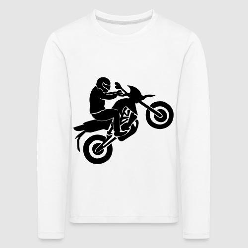 Motorradfahrer - Kinder Premium Langarmshirt