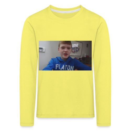 roel t-shirt - Kinderen Premium shirt met lange mouwen