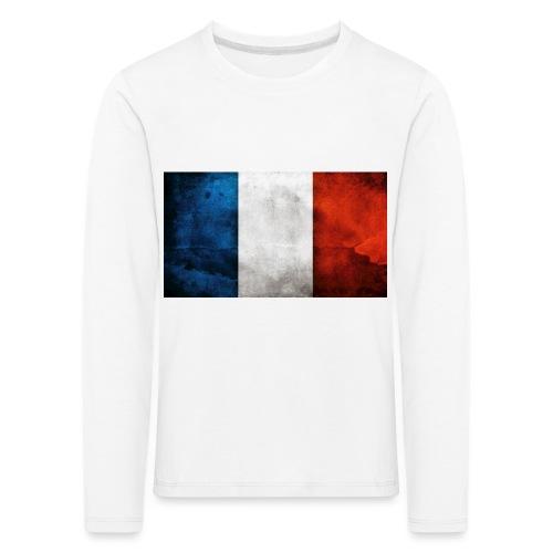 France Flag - Kids' Premium Longsleeve Shirt