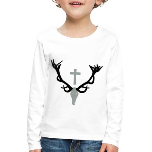 Hirschgeweih - Kinder Premium Langarmshirt
