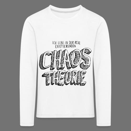 Chaostheorie (schwarz) - Kinder Premium Langarmshirt