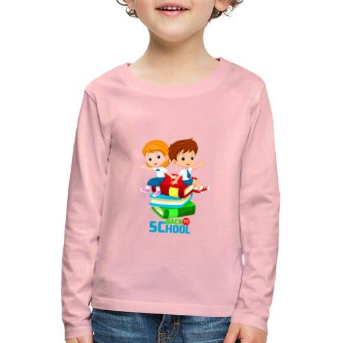 BACK to SCHOOL - T-shirt manches longues Premium Enfant