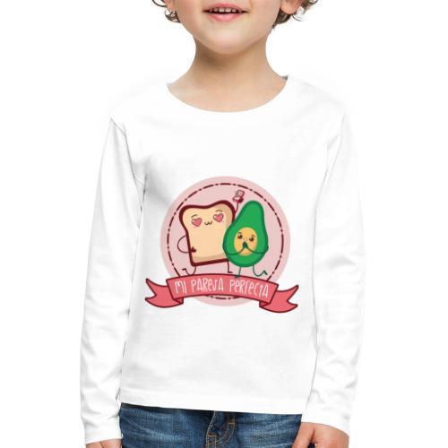 La pareja perfecta - Camiseta de manga larga premium niño