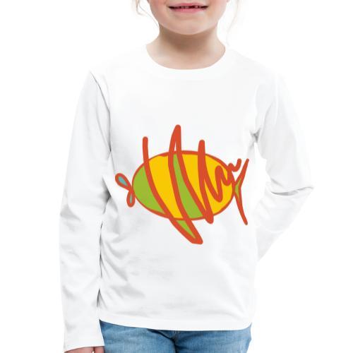 fish - Kinder Premium Langarmshirt
