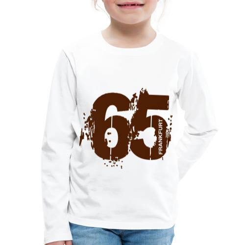 City_65_Frankfurt - Kinder Premium Langarmshirt