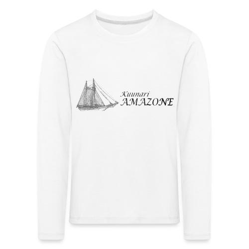 vessel-png - Lasten premium pitkähihainen t-paita