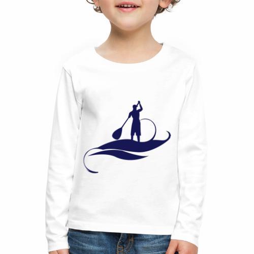 Paddle Man - T-shirt manches longues Premium Enfant