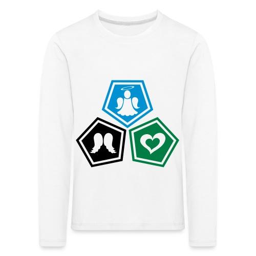 Tee shirt baseball Enfant Trio ange, ailes d'ange - Kids' Premium Longsleeve Shirt