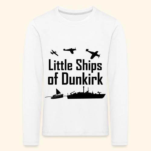 Little Ships of Dunkirk - T-shirt manches longues Premium Enfant