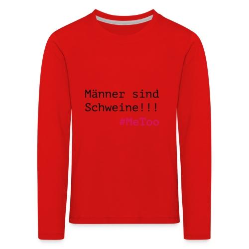 metoo png - Kinder Premium Langarmshirt